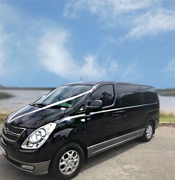 black mini bus for hire gold coast