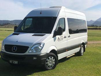 luxury mini van for hire