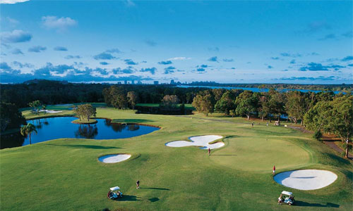 gold coast golf tours
